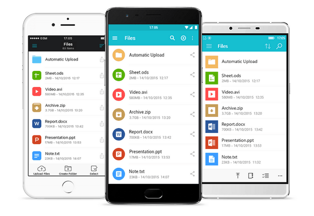 pcloud app android ios