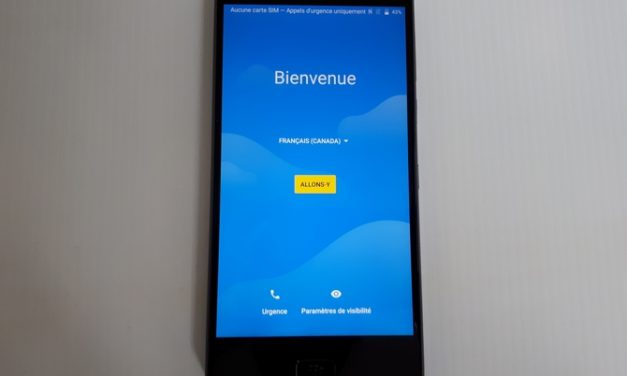 Blackberry Motion sous Android [Test]