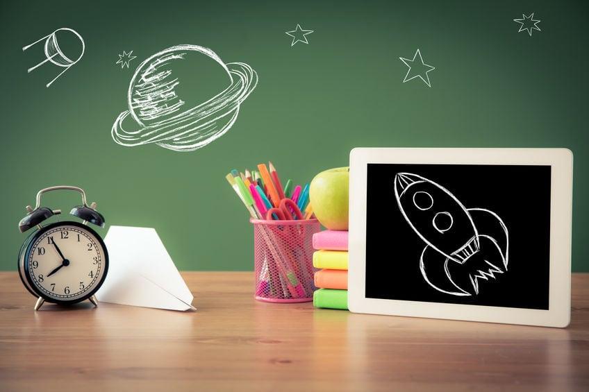 Apprendre sur tablette iPad