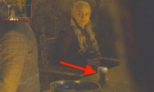 Game of Thrones : une tasse à café Starbucks repérée dans une scène