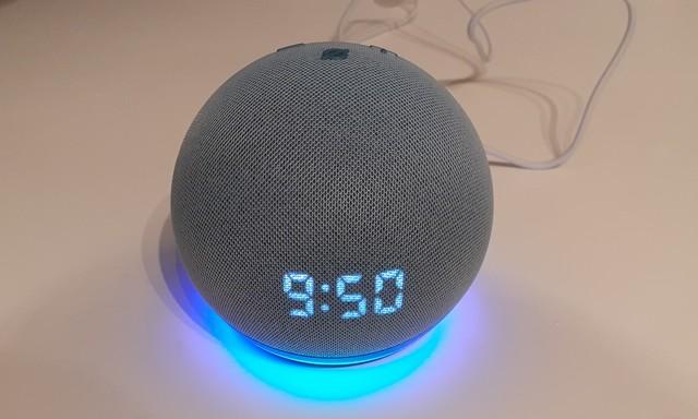 Echo Dot 4 avec Alexa